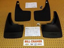 19212819/12499846 2007-2014 Chevy Avalanche Front & Rear Molded Splash Guards