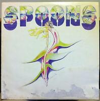 SPOONS definitely live LP VG+ SR 723 Private CO USA 1981 Prog Rock