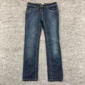 Sass & Bide Womens Jeans Size 24 Blue Straight Leg Low Rise Denim 166.21