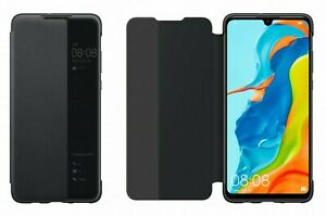 Official Huawei P30 Lite Smart View Flip Case Cover Compatible with New Edition
