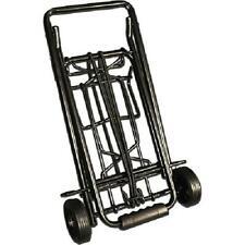 Black Metal Luggage Cart