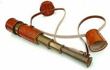 """NAUTICAL MART Brass Nautical Antique Telescope 18""""Long spyglass Halloween gift"""