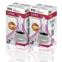 2 x D3S  XENON NEW BULB Genuine LUNEX compatible with 66340 9285304244 UPT 8000K