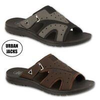 Mens Urban Jacks Sports Sandals Flip Flop Mules Sandals UK size 7 8 9 10 11 12