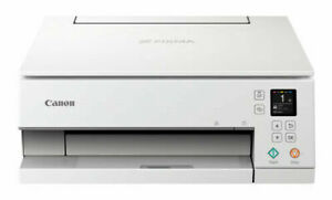 Canon TS6320 All-In-One Wireless Color Printer, Copier, Scanner - WHITE