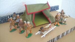 11 VINTAGE**BARCLAY**MANOIL**TENT, FIELD STRETCHER, AVIATOR, DRUM MAJOR, OTHERS