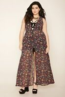Forever 21+ Plus Size Floral Maxi Dress XL/1X