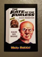 Fate of Furless Red Ludlow 09/25 2018 Topps Wacky Packages Go to the Movies