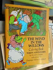 The Wind in the willows coloring book - Toad's adventures Dominique Strandquest