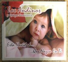 """LOS ANDINOS Y QUIQUE DOMENECH - """"  QUE NAZCA"""" - CD"""