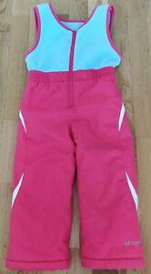 Columbia 4 years kids waterproof bib fronted kids winter trousers salopettes