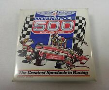 1986 Indianapolis 500 Event Collector Button The Greatest Spectacle In Racing