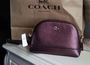 Coach Metallic Crossbody