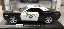 Custom Maisto 1:18 scale Dodge Challenger California Highway Patrol Car