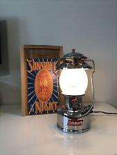 Coleman Lantern 200B 8/94 Chrome Lamp Like Sears 234 Arc 200a Gold bond