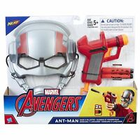 Marvel Avengers Ant Man Mask Particle Blaster Ages 5+ Toy Play Ironman Antman