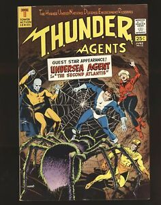 Thunder Agents # 13 - Undersea Agents appearance VG/Fine Cond.