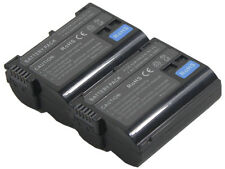 2X Battery EN-EL15 EL15a for Nikon V1 D600 D7100 D750 D7200 MB-D11 D12 D14 D15