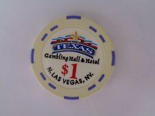 New listing $1 Texas Gambling Hall & Hotel Casino Chip