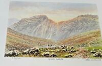 Limited Print Great Gable by Peter Worswick signed