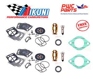 Seadoo Mikuni Double Carburateur Reconstruction Kit 2000-2002 GTX 1998-2002