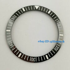 New style 38mm black ceramic bezel insert for 40mm parnis submariner watch