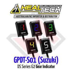 Healtech GiPRO DS Series G2 Gear Indicator GPDT-S01 Suzuki FREE EXPRESS SHIPPING