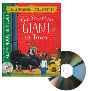 The Smartest Giant in Town Julie Donadson (Paperback /Audio CD)
