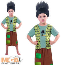 Trolls Branch Boys Fancy Dress TV Film Cartoon Character Book Day Kids Costume