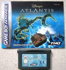 ★☆☆ Gameboy Advance - Atlantis The Lost Empire ☆☆★