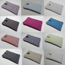 Handmade iPod nano case, cover, pouch. Houndstooth cotton fabric. 12 Colours.