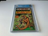 1ST ISSUE SPECIAL 8 CGC 9.4 WHITE PAGES ORIGIN AND 1ST WARLORD DC COMICS 1975