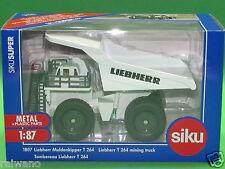 1:87 Siku Super 1807 Liebherr Muldenkipper T 264 Blitzversand per DHL-Paket