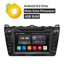 "Android 8.0 8"" Car Stereo DVD GPS FM Radio USB For Mazda 6 2009 2010 2011 2012 O"