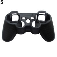 Soft Silicone Cover Skin Rubber Grip Case For Playstation 3 PS3 Controller
