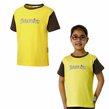 BROWNIE SHORT SLEEVED TSHIRT BROWNIES OFFICIAL UNIFORM GIRLS KIDS FREE DELIVERY