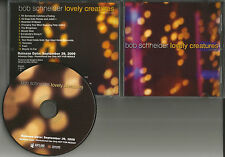 BOB SCHNEIDER w/ PATTY GRIFFIN Lovely ADVNCE w/DIFFERENT ART & SEQUENCE PROMO CD