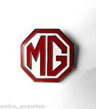 MG BRITISH AUTOMOBILE CAR LOGO LAPEL PIN BADGE 3/4 inch