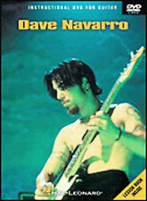 Dave Navarro Instructional Guitar  DVD NEW SEALED WITH BOOK JANES ADDICTION