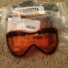 Anon Replacement Lens for Subrosa Goggles - Gold - NEW