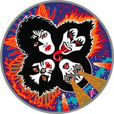 "KISS Music Bumper Sticker  5"" x  5"""