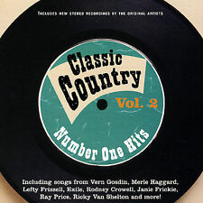 Classic Country: Number One Hits, V.2 - Various Artists - New Country Music CD