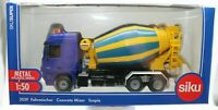 Concerete Mixer Truck 1:50 Scale - Siku - 3539 - NEW UK SELLER POST FREE