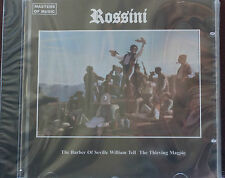 Masters of Music Rossini Selections CD Mint Order 10 Trks  New 70 mins Duet 1999