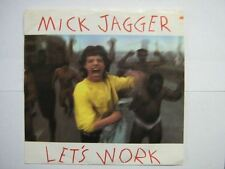 MICK JAGGER 45 TOURS USA LET'S WORK