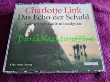 CD HÖRBUCH KRIMI ROMAN   CHARLOTTE LINK   DAS ECHO DER SCHULD