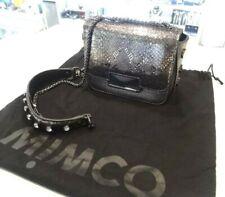 New - MIMCO TRANCE MINI HIP BAG in Mettalic Silver
