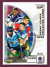 2002 SELECT NRL CHALLENGE  TRADING CARDS (BASE SET-182)