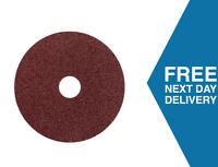 Sanding Fibre Discs 115mm | Pack of 25 | 36-120 Grits | Use with Angle Grinder