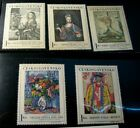 Czechoslovakia Stamp Scott# 11435-39 Paintings 1966  MH L268